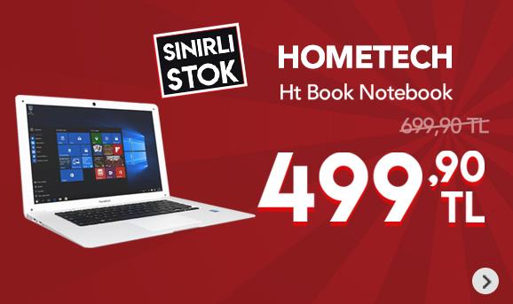 Hometech HT BOOK 14 Office Plus Intel Z8350 1.93 2GB 32GB SSD W10 499,90 TL