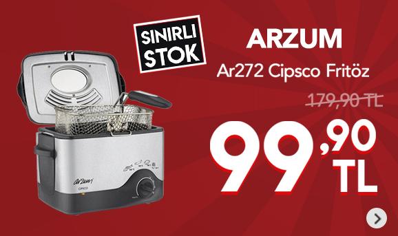 Arzum Ar272 Cipsco Fritöz 99,90 TL