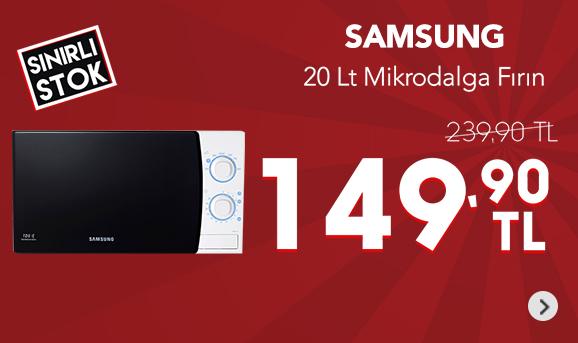Samsung ME711K/AND 20 Lt Mikrodalga Fırın 149,90 TL