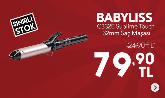 Babyliss C332E Sublime Touch 32mm Saç Maşası 79,90 TL