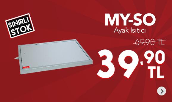 My-So Ayak Isıtıcı 39,90 TL
