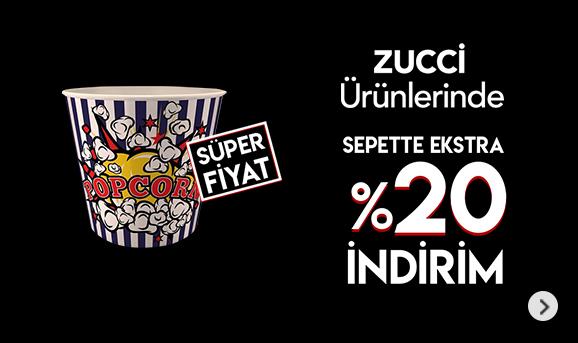 Zucci ürünlerinde Sepette %20 İndirim