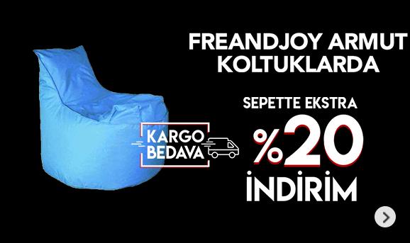 Freeandjoy Armut Koltuklarda %20 İndirim Kargo Bedava