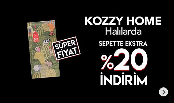 Kozzy Home Halılarda Sepette %20'ye Varan İndirimler