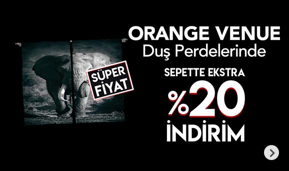 Orange Venue Ürünlerinde Sepette %20 İndirim