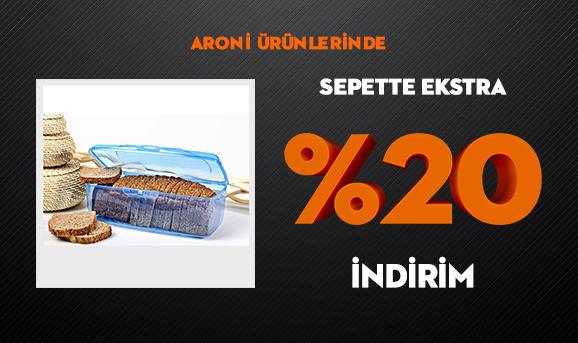 Aroni Ürünlerinde Sepette Ekstra %20 İndirim