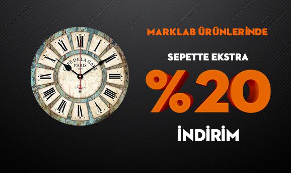 Marklab Ürünlerinde Sepette Ekstra %20 İndirim