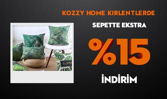 Kozzy Home Kırlentlerde Sepette Ekstra %15 İndirim
