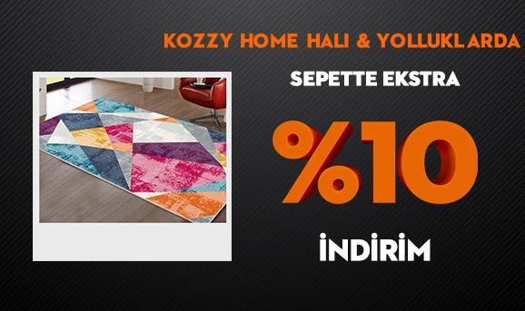 Kozzy Home Halı ve Yolluklarda Sepette Ekstra %10 İndirim