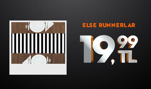 Else Runnerlar 19,99 TL