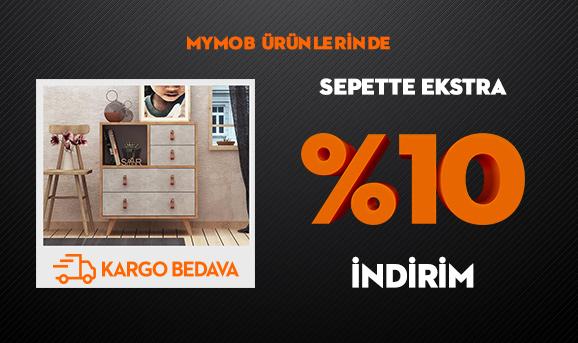 MymobÜrünlerinde Sepette Ekstra %10 İndirim + Kargo Bedava