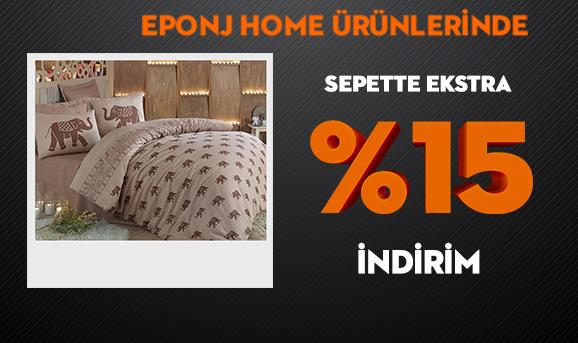 Eponj Home Ürünlerinde Sepette Ekstra %15 İndirim