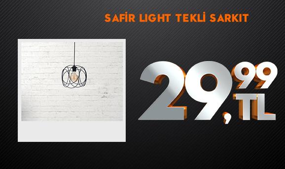 Safir Light Ceren Tekli Sarkıt 29,99 TL