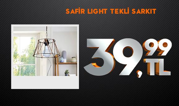 Safir Light Elis Halat Tekli Sarkıt 39,99 TL