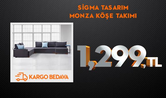 Sigma Tasarım Monza Köşe Takımı 1299 TL