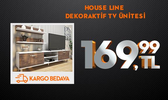 House Line Dekoraktif Tv Ünitesi 169,99 TL
