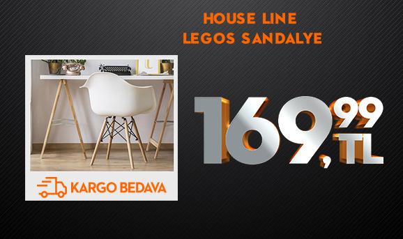 House Line Legos Sandalye 169,99 TL