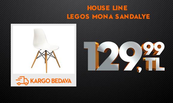 House Line LG-21 Legos Mona Sandalye 129,99 TL