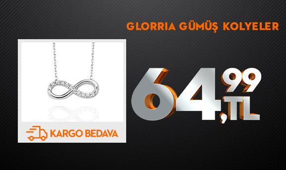 Glorria Gümüş Kolyeler 64,99 TL + Kargo Bedava