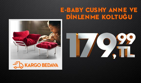 E-Baby Cushy Anne ce Dinlenme Koltuğu 179,99 TL + Kargo Bedava