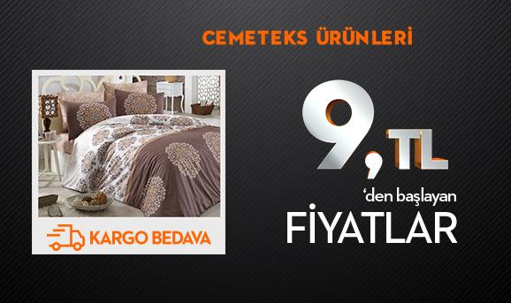 Cemeteks Ürünleri 8.55 TL'den Başlayan Fiyatlarla + Kargo Bedava