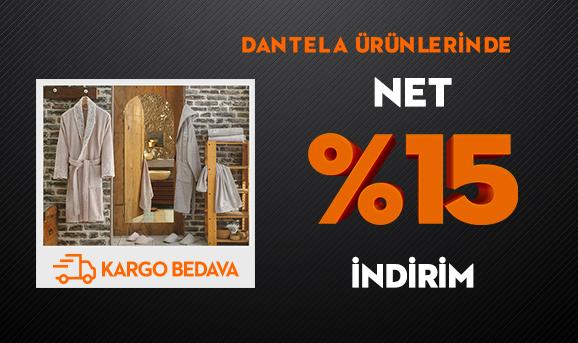 Dantela Ürünlerinde Net %15 İndirim + Kargo Bedava