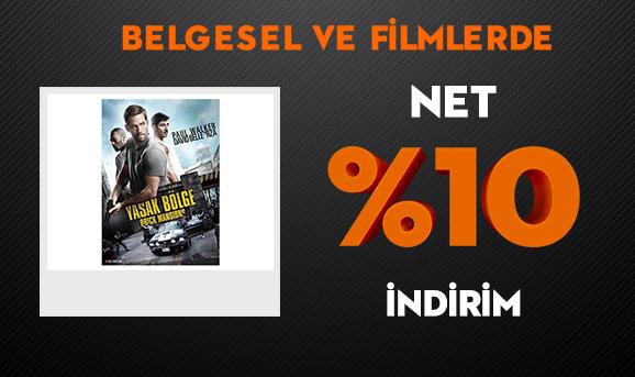 Belgesel ve Filmlerde Net %10 İndirim