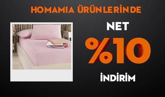 Homamia Ürünlerinde Net %10 İndirim