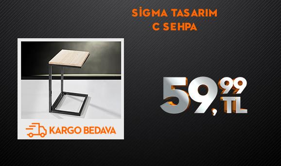 Sigma Tasarım C Sehpa 59,99 TL