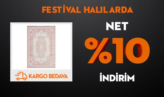 Festival Halılarda Net %10 İndirim